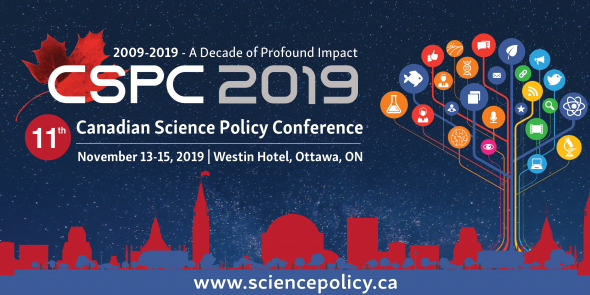 Canadian Science Policy Conference 2019 Banner